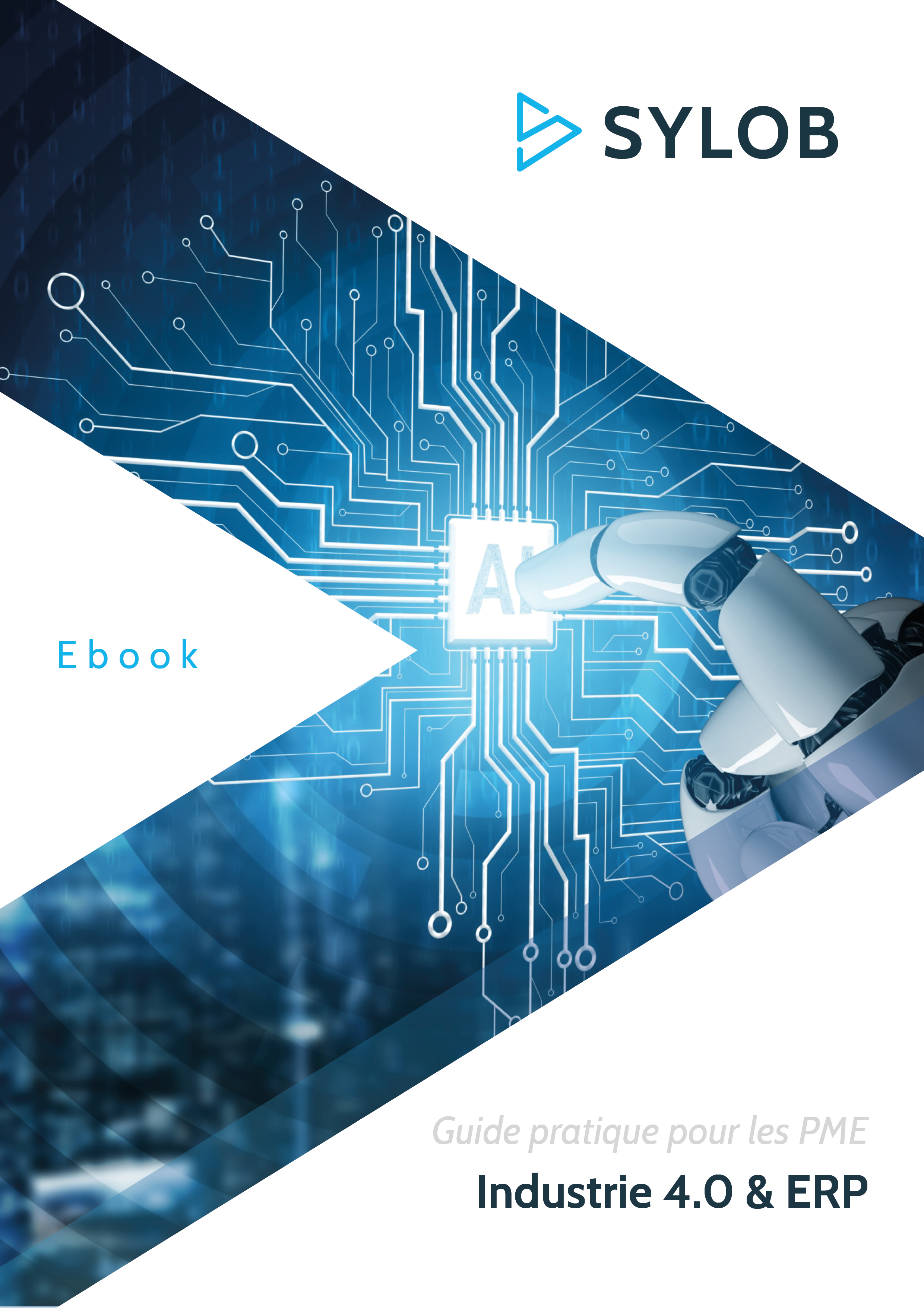 Couv Ebook - Industrie 4.0 & ERP - SYLOB